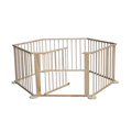 6 Sided Baby Wooden Foldable Playpen Play Pen Room Divider