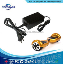 Electric bike charger 42v 2a power adapter for self balancing scooter smart balance hover board 2 wheels