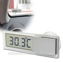 2016 Car Windshield / Rear View Mirror LCD Digital Room Temperature Meter Thermometer