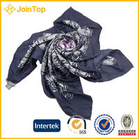 Join top wholesale customized women's square scarf