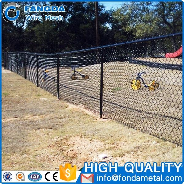economy good custom High qualtiy sports ground chain link fence for baseball fields
