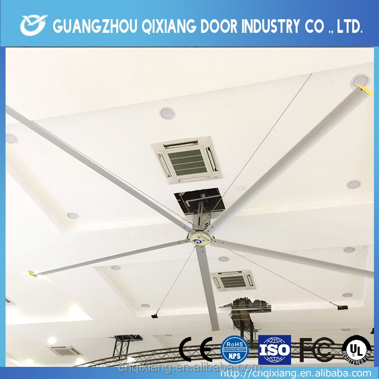Dairy Poultry Farm Air Cooling Big Exhaust Ceiling Fan with CE Certificate