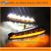High Quality Turn Signal LED Daytime Running Light for Buick Encore Hot Selling Super Bright LED DRL for Buick Encore 2012 2013