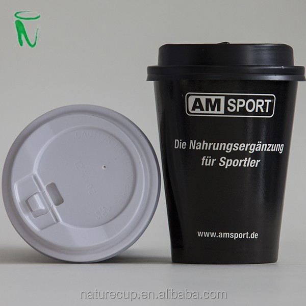 Nature cup paper cup plastic lid, ps cover, hot drink cap for 10oz/ 12oz/ 16oz paper cups