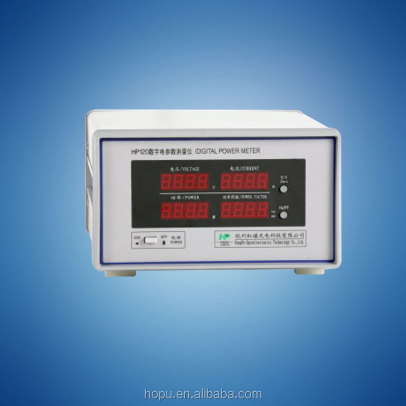 HOPOO HP120 digital power meter harmonic analyzer model