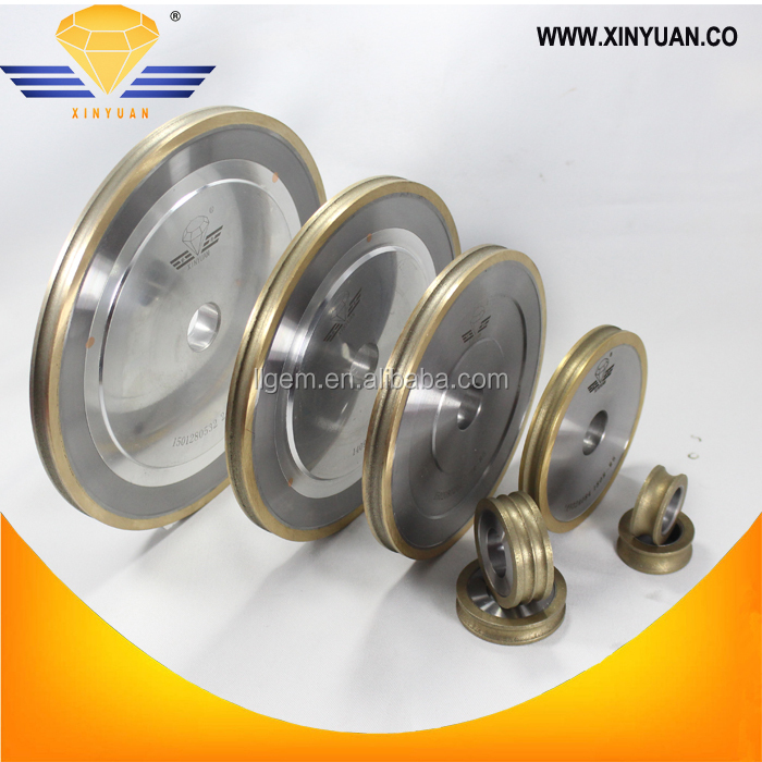 High quality Flat shape diamond grinding wheel for glass edge machine
