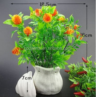 Wholesale New design and high quality artificial small potted plant