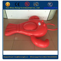 China Factory Directly Wholesale EN71 SGS Giant Swimming Pool Float Red Rock Lobster Inflatable Air Tumbling Mat