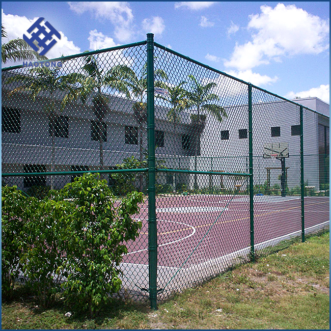 30 Years' factory supply plastic/pvc coated chain link fence
