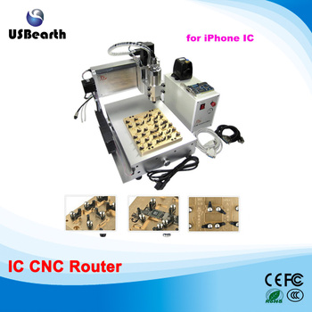 LY IC cnc router For iPhone IC Repair / Milling engraving machine for iPhone Main Board Repair