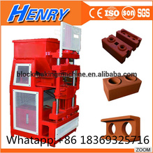 Ecological technology HR1-10 automatic hydraulic clay soil interlocking brick making machine price