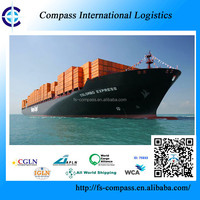 Door to door shipping container with best rate from China to Toronto Canada sea freight forwarder