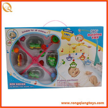 Electric Bell bed with music baby cot hanging toy BO7270001-3
