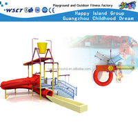 (HD-6601)Small Size Water Play Equipments Water Slide Children Outdoor Play Equipment
