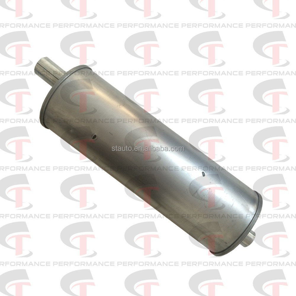 Universal muffler for engineering van or forklift truck and car