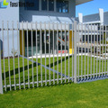 used 6 foot High ornamental Class and commercial Steel fence Panels