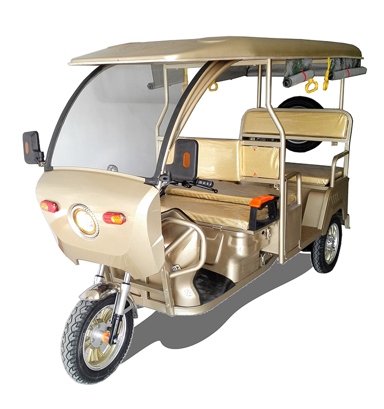 WIth differential DC Brushless motor 48v 800w electric auto rickshaw in bangladesh