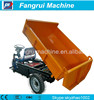 Environment friendly hydraulic tricycle for cargo dust cart electric three wheel for export