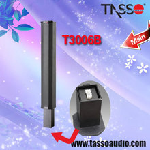 guangzhou portable beads wireless speaker active stage column speaker T3006B
