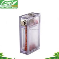 China manufacturer electronic cigarette box mod abs box mod with led light