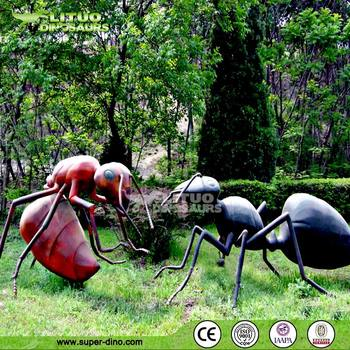 Giant Artificial Silicone Rubber Insect Model for Park