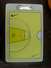 sports coach clipboards / basketball coach plastic clipboard