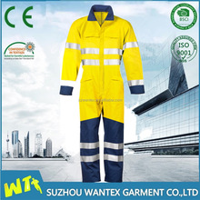 FR & ARC protective energy industry coverall with reflective tape ,Safety Clothing