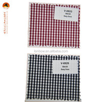 Classic cotton check fabric school uniform in bulk