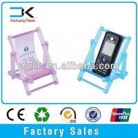 Manufacture Hand Phone Holder /plastic chair shape cell phone holder