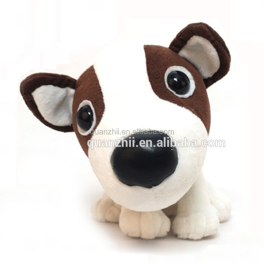 plush animals and big eye type dog plush animals(big eyes)