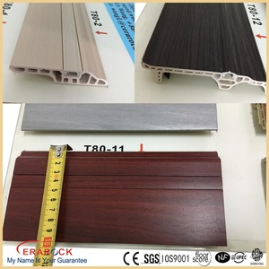 2.0m PVC wooden looking home skirting board