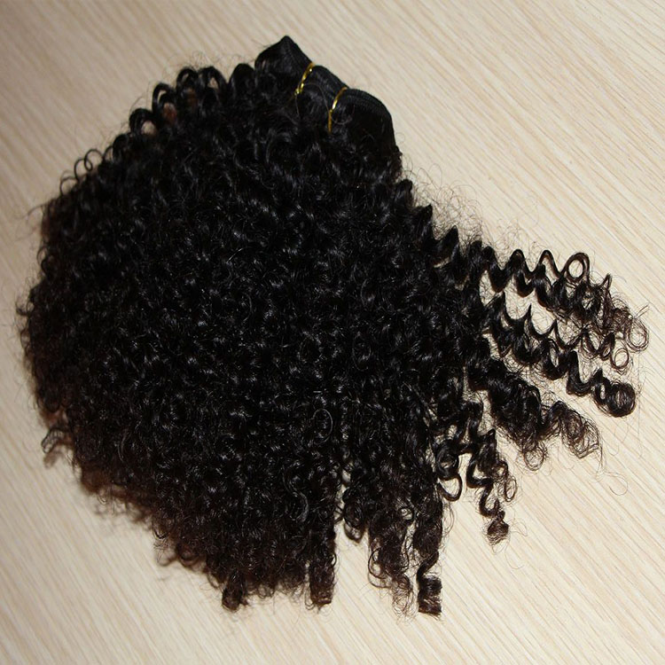 Malaysian virgin afor kinky curly bulk human hair weaving wholesale in south africa