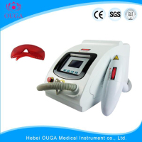 Q switch nd yag laser machine for tattoo removal hair removal
