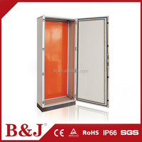 B&J High Quality BJH-A IP55 Floor Standing Electrical Sheet Steel Enclosure Cabinet
