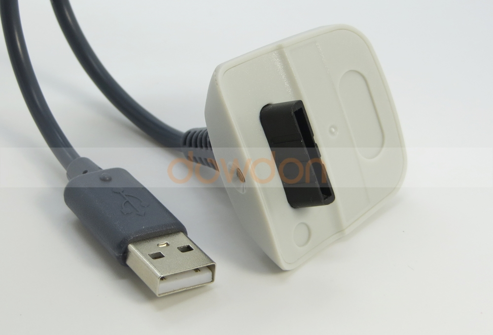 USB Charger Cable Replacement Charger for Xbox 360 Wireless Controller
