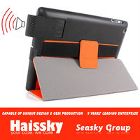 for apple ipad synthetic leather case with stand