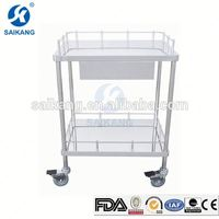 China Supplier Luxury Medical Equipment Therapy Trolley Equipment