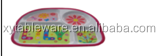 plastic Children's snack plate (decal)