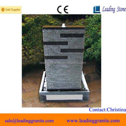 Natural stone battery operated indoor water fountain
