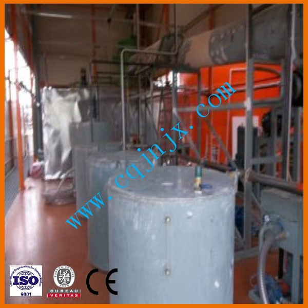 ZSA used motor oil purification/black oil renew to base oil machine/waste oil recovery machine
