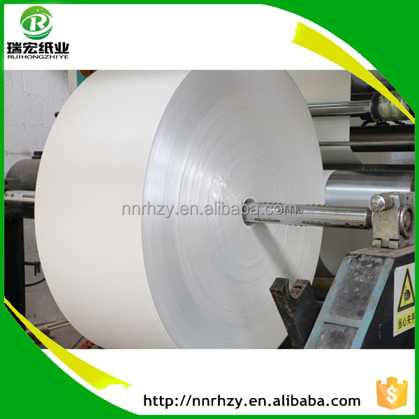 Hot sale one side food grade coated paper in roll