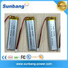 LP751878 ultra-narrow 3.7v 1000mah rechargeable lithium polymer battery for electric device