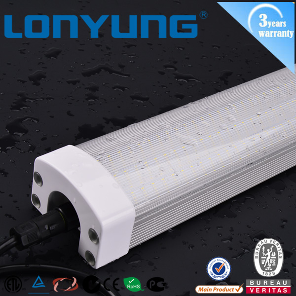 industrial massive applied led tri-proof light IP65 water proof 40W 50W 60W 120cm led lamp
