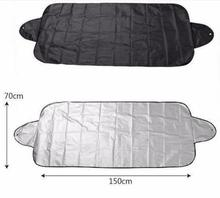 silver plasters snow block Car window Sunshade