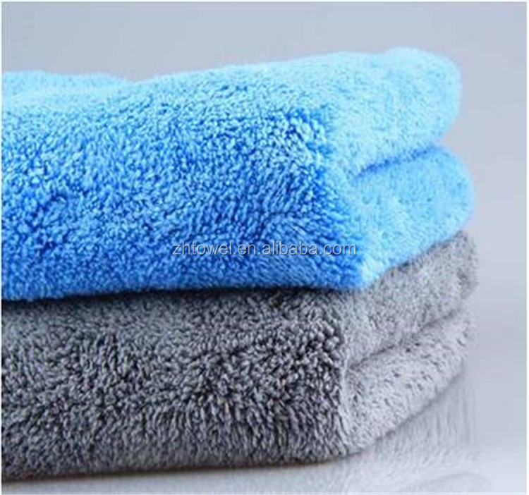 super soft fabric Drying Auto Detailing Towel Microfiber coral fleece car cloth