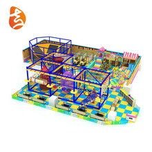 Children ropes course adventure climbing wall outdoor playground