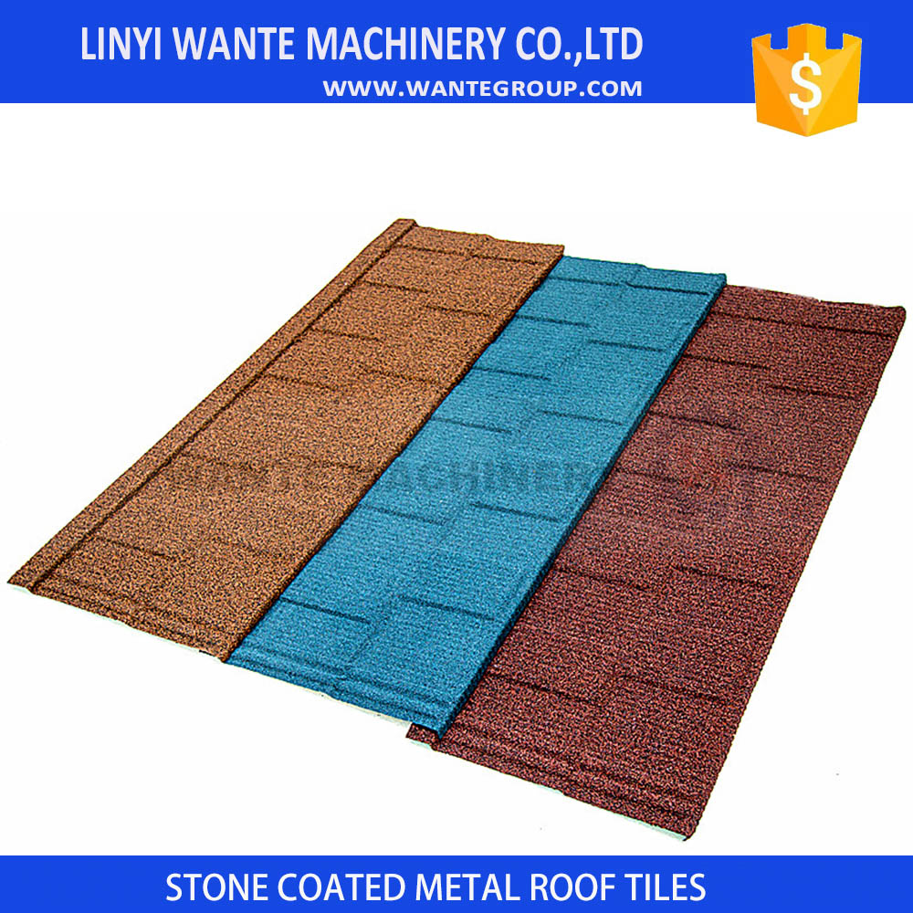 Competitive Spanish style villa roofing shingles in China