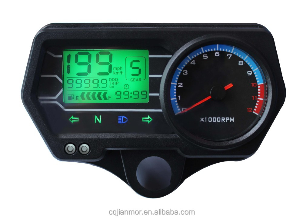 OEM quality motorcycle digital speedometer CG125