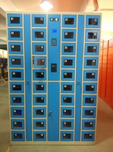 CE certified Electronic phone locker with power recharging functionCT-40CPB