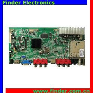 "LCD TV AD Control Board for 19"" and above LCD Panel"
